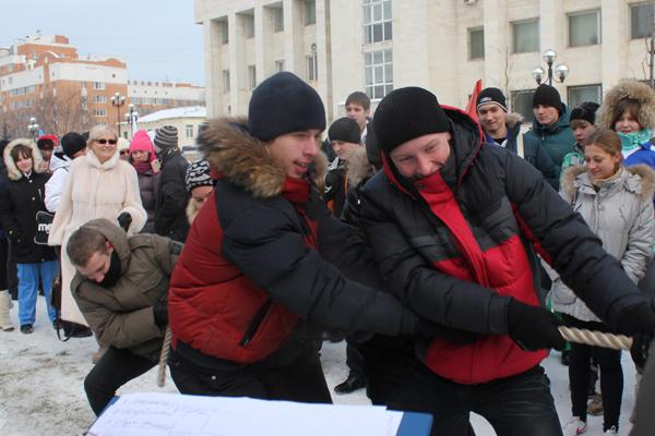Пущинцы на слете православной молодежи в Люберцах 2012