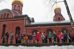 Масленица-2014 в Пущинской воскресной школе Вертоград