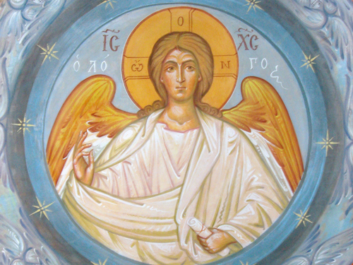 Спас Благое молчание. Великого Совета Ангел