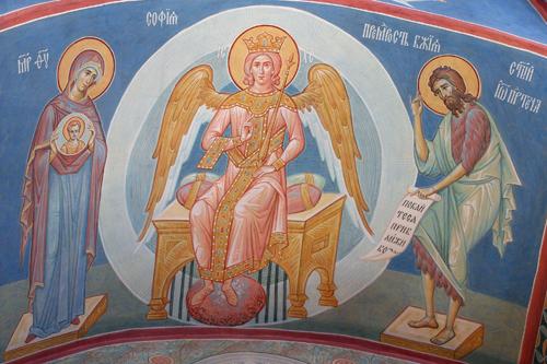 Христос-София Премудрость Божия Пущинский храм
