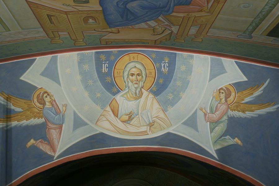 Христос ветхий деньми Пущинский храм