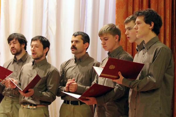 "Мужская группа хора ""Вертоград"""