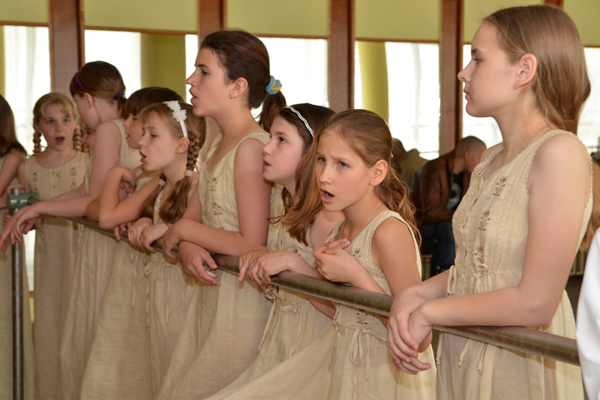 Пасхальный концерт воскресных школ Серпуховского благочиния