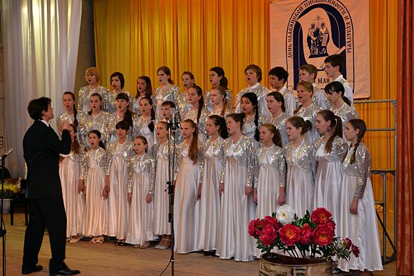 Сводный детский хор Михаило-Архангельского храма и ДМШ им А. Алябьева
