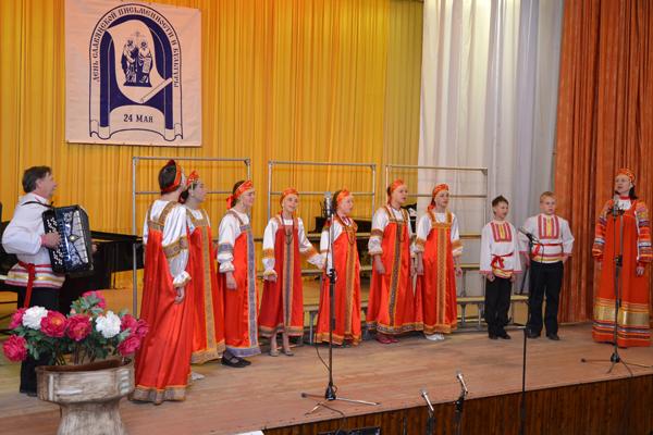 """Пущинский детский хоровой фестиваль """"Музыка души"""""""