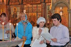 Молебен по окончании учебного года на Библейско-богословских курсах