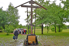 Паломничество слушателей Пущинских ББК и учащихся воскресной школы Вертоград на Бутовский полигон