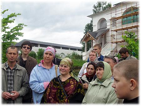 Слушатели Курсов в Саввино-Сторожевском монастыре
