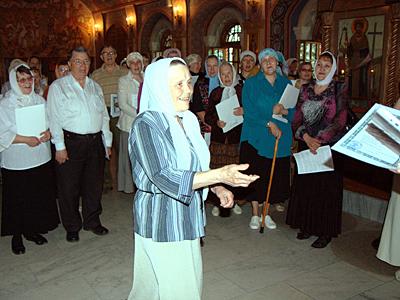 Выпускница Мария Щербакова одна из первых прихожанок