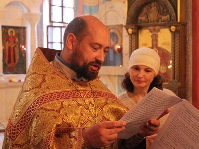 Проповедь на молебне на начало учения