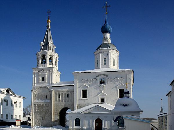 Собор Рождества Богородицы 1722 г., лестничная башня и переход 1158 – 1164 гг.