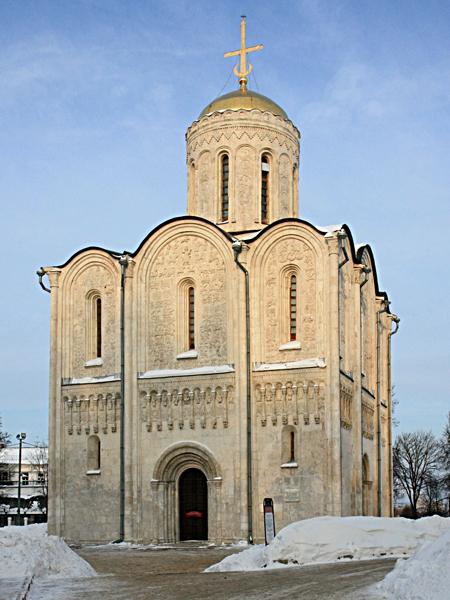 Дмитриевский собор 1186-1189 гг.