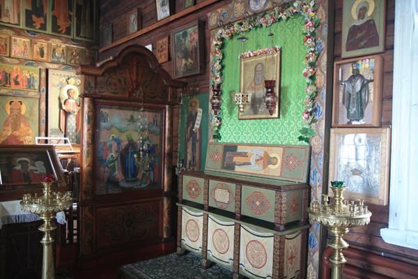 Мощи Петра Великодворского в Пятницком храме