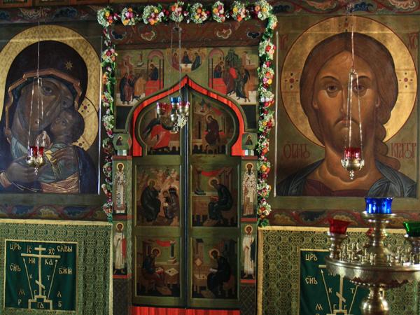 Великодворский иконостас