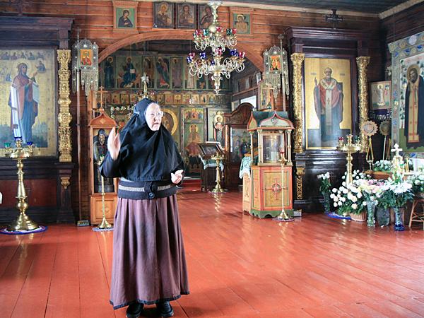 Матушка Иоанна в храме Параскевы Пятницы
