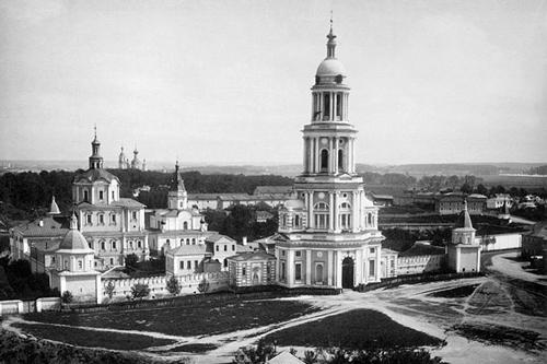 Спасо-Андроников монастыря в 1883 г.