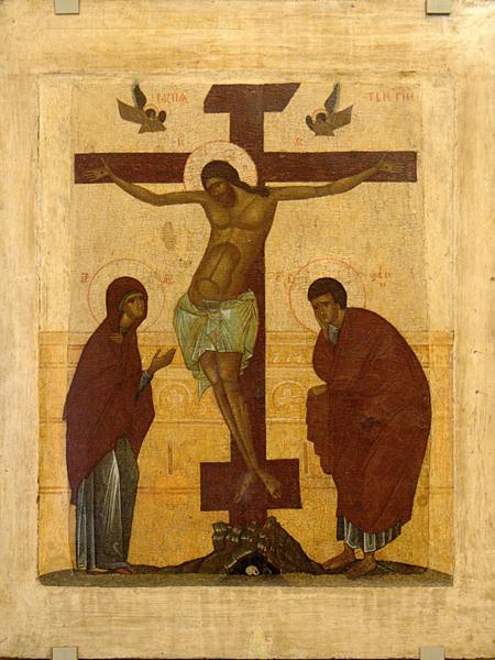 «Распятие» 1-я пол. XV в.