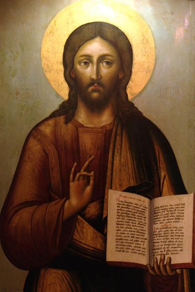 «Христос Вседержитель» 1703 г. Тихона Филатьева