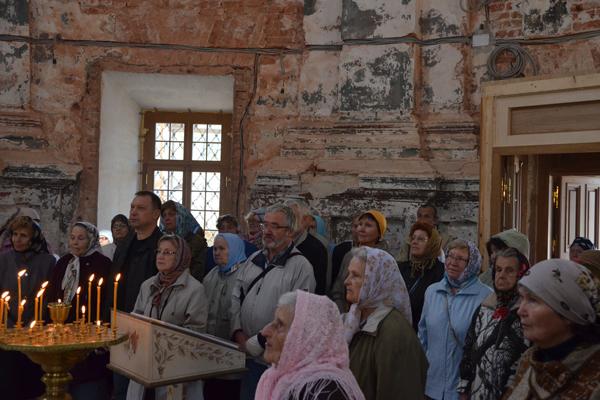 Проповедь в Богородице-Рождественском храме с.Подмоклово