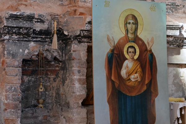 Богородице-Рождественский храм в с.Подмоклово