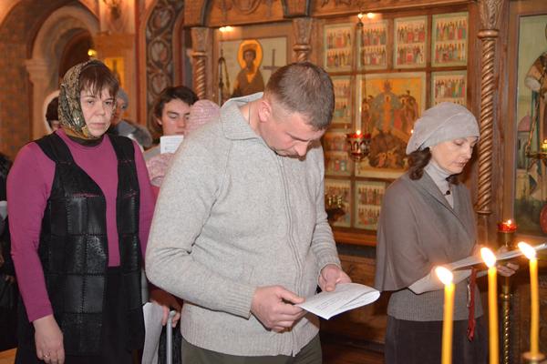 Благодарственный молебен на Пущинских Катехизических курсах