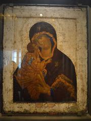 Икона Богородицы Донская. Феофан Грек