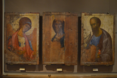 Фрагмент Деисуса. Андрей Рублев