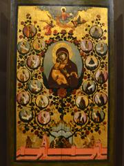 Икона Богородицы. Древо государства Российского