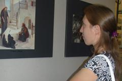 """20.08.2013 Экскурсия по выставке постеров В.Поленова """"Из жизни Христа"""""""