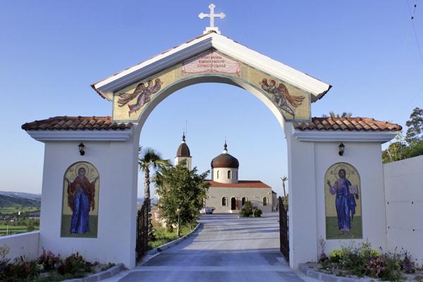"""Церковь в честь иконы """"Семистрельная"""" в Алефрико Кипр"""