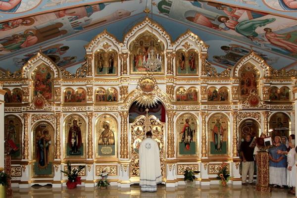 Иконостас Церкви в Алефрико