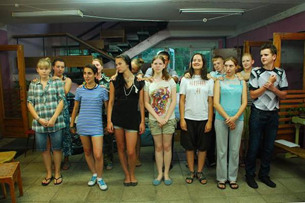 Вожатые лагеря «Вертоград - 2008, 2009, 2010», ныне студенты столичных ВУЗов.