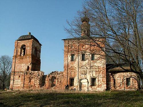 Спасо-Преображенский храм в с.Жерновка