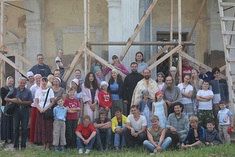 """Православный лагерь """"Вертоград-2011"""""""