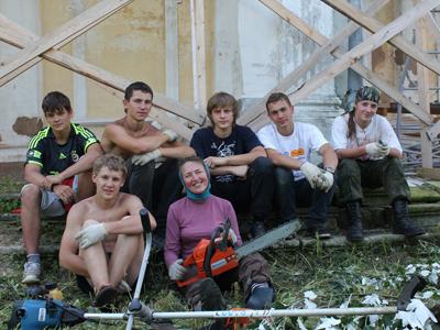 Лагерь Подмоклово-2011