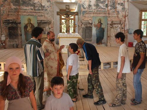 Полиелей в храме Рождества Богородицы с.Подмоклово