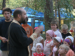 Православный лагерь Вертоград 2010 Прилуки