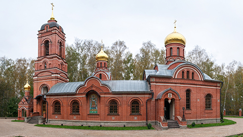 Михаило-Архангельский храм г.Пущино