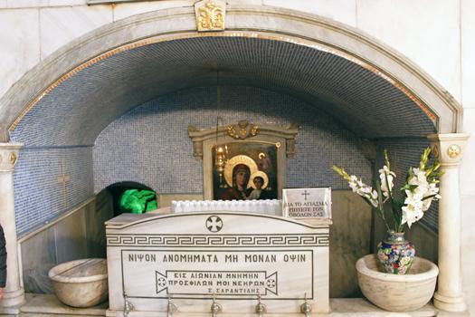 Влахернская церковь. Святой источник
