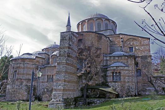 Поздневизантийская церковь Хора (музей Карийе)
