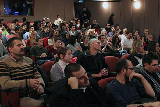 Василий Корецкий и Анна Сухова на кинофестивале в Стамбуле