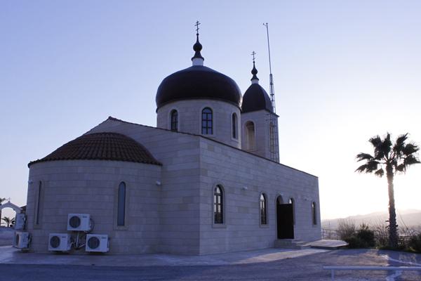 """Церковь иконы """"Семистрельная"""" Алетрико Кипр"""