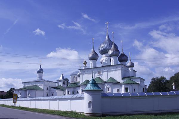 Воскресенский мужской монастырь в Угличе