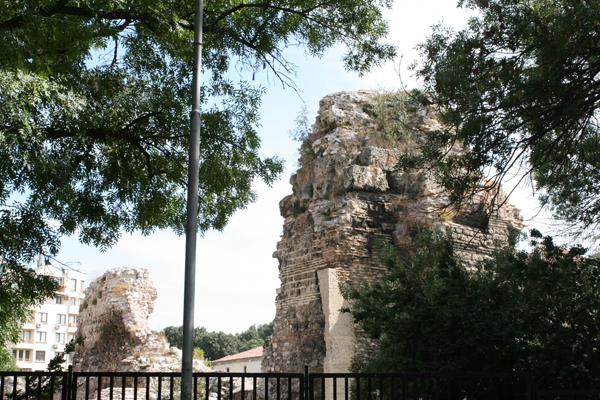 Развалины римских терм