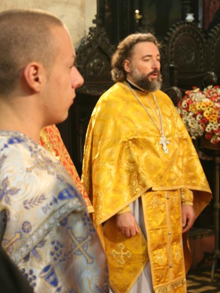 Настоятель Морского храма свт. Николая в г. Варна о. Василий