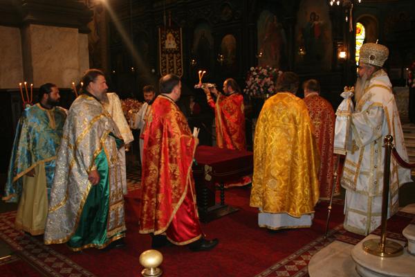Преосвященный митрополит Варненский и Великопреславский Кирилл.