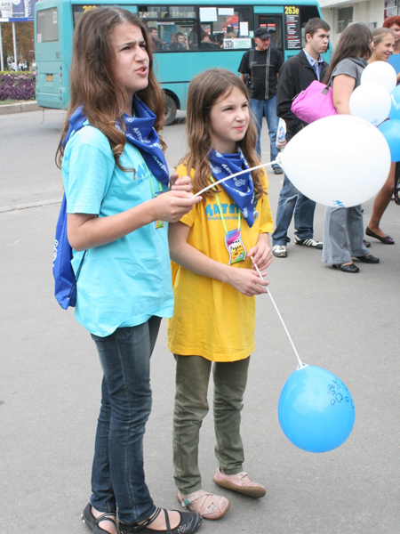 """Открытие фестиваля """"Дитятко"""" в кинотеатре им. Довженко"""