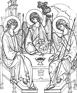 Троица Предвечный Совет