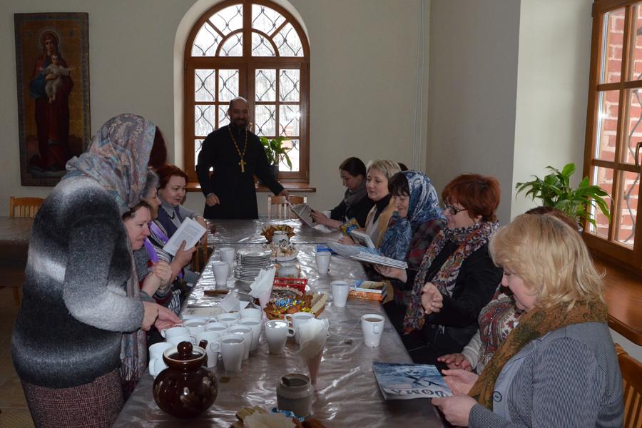 Сретение. Праздничный молебен для пущинских учителей