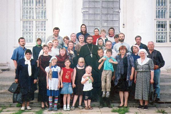 Тульские учителя ОПК с о. Геннадием Степановым - настоятелем Успенского храма г. Алексина